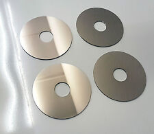 Spiegel 1,5 mm Spiegelplatte mit Loch Runder Rund zbs für Deko Lampe ca. 9,5Cm