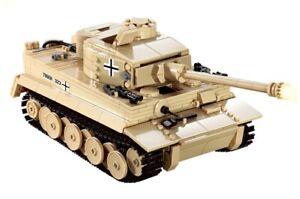 Tiger Tank Technical Brick Model - 995 pieces