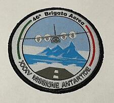 PATCH AERONAUTICA MILITARE - 46^ BRIGATA AEREA - XXXV MISSIONE ANTARTIDE