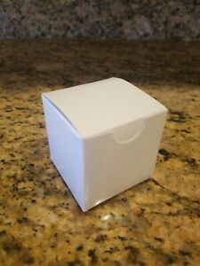 "25 2"" PAPER SQUARE CANDY GIFT BOX JEWELRY BIRTHDAY PARTY WEDDING FAVOR BOXES"