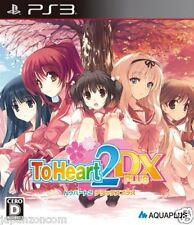 Used PS3 To Heart 2 DX Plus PLAYSTATION 3 SONY JAPAN JAPANESE IMPORT