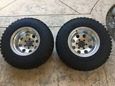 31x10.50x15 Goodyear Mud Terrain Tires Toyota Chevy Prime Wheels Pro Comp Pair
