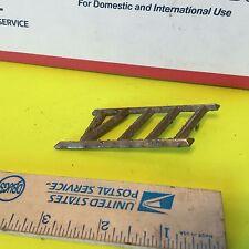 Studebaker Trim Viii One Pin Ok Item 2655