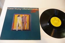 KAREN YOUNG / MICHEL DONATO LP HAPPY TALK . PRODUCTIONS BLEU CITRON FRENCH PRESS