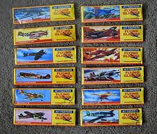 WW2 World War 2 12 x Toy Foam Gliders War Planes Spitfire Mitsubishi Zero Focke