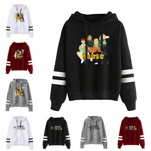 HOT Winter New The Hype House Men's and Women's Casual Fashion Hooded Sweater
