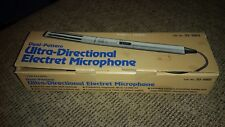 Vintage Realistic Ultra Directional Electret Condenser Microphone Model 33-1062