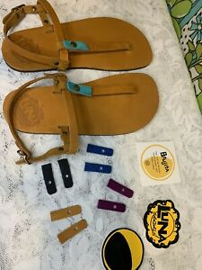 Luna Womens Leather Brujita Sandal. Sizes Available: 10.5 & 6 (US Woman's)