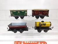 CG156-1# 4x Karl Bub/KB/KBN Spur 0 Güterwagen: Shell+US-Pennsylvania etc, Mängel