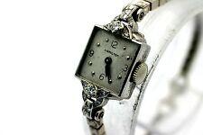 1946 HAMILTON 911 17 Jewel PLATINUM/14K Solid Gold Diamond Women's Watch