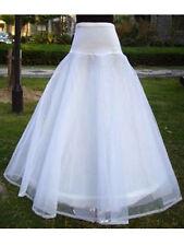 BRIDAL WEDDING DRESS PETTICOAT UNDERSKIRT CRINOLINE CHARM 1 HOOP 2 Layer