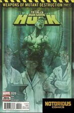 Totally Awesome Hulk #20 Weapons of Mutant Destruction Part 2 Marvel 1st Print +