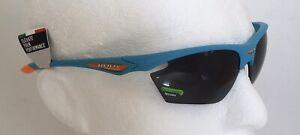Rudy Project STRATOFLY Azure Blue Sunglasses SMOKE Black Lens Ref:081