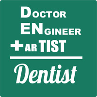 DOCTOR ENGINEER ARTIST = DENTIST STOREFRONT | Adhesive Vinyl Sign Decal