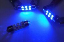 2x 31mm Festoon bulb 6 SMD LED Light Blue Dome Map Trunk glove box DE3175 DE3022