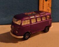MATCHBOX  VW Transporter 1998 DIE-CAST 1:58 SCALE Purple VERY RARE HTF