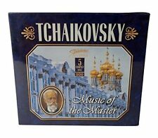 TCHAIKOVSKY Music of the Master 5 Disc Set NEW SEALED CD Music