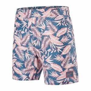 "Speedo Vintage Floral Print 16"" Men's Swim Shorts, Navy/peach"