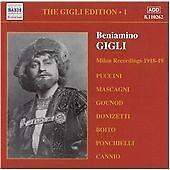 The Milan Recordings, Beniamino Gigli, Very Good CD
