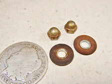 72 HONDA CB350F FOUR TACHOMETER/SPEEDOMETER GAUGE MOUNTING NUTS TO TRIM CUP