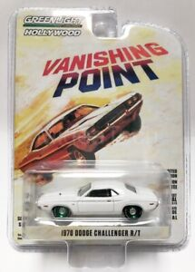 Greenlight Hollywood 1/64 Vanishing Point 1970 Dodge Challenger R/T 44820A Chase