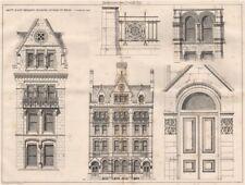 Equity & Law Assurance buildings Lincolns Inn Fields; Alfred Waterhouse 1872