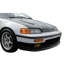 KBD Body Kits Sir Spec 1 Pc Polyurethane Front Lip For Honda CRX 1988-1991