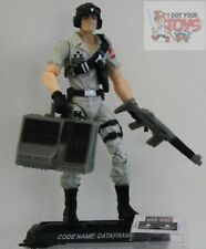 "DATAFRAME GI JOE 25th Anniversary COMIC PACK 2008 3.75"" Inch Loose Figure"