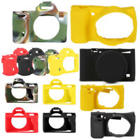 Soft Silicone Camera Case Protective Cover for Sony A7 A7R A7S A7III A7R3 A6000