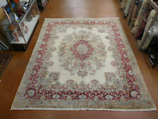 New listing Antique Kirmann rug estate Wonderful carpet 10'6''x12& #039;2'' circa 1950s