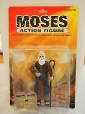 Accourtrements Moses Action Figure with Removable 10 Commandment Tablets & Staff