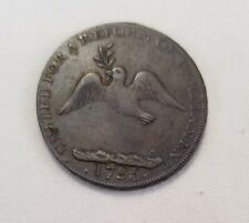 1795 anti slavery dove colonial halfpenny token c3
