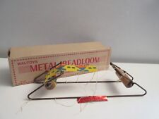 Vintage Waltoys Metal Beadloom for Indian Bead Craft No. 150 Weaving Loom Craft