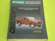 1983-89 MITSUBISHI CORDIA GALANT MIRAGE MONTERO PICK-UPS PRECIS SIGMA STARION