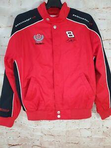 Winner's Circle Women's Dale Earnhardt Jr. Snap  S/S Red/Black Jacket Size 14/16