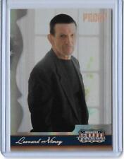2007 DONRUSS AMERICANA LEONARD NIMOY PROOF CARD #63 ~ 163/250 ~ STAR TREK SPOCK