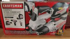 CRAFTSMAN COMPACT 4 TOOL COMBO KIT 12 VOLT NEW IN BOX