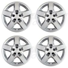 "17"" SILVER ""Bolt-On"" Wheel Covers / Hubcaps FOR Chevy Malibu / Pontiac G6"