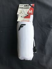 "Franklin White Sock R Shin Guard ~Adult Size Med (fits up to 5'3"")~New w/tags"
