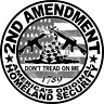 2nd Amendment Don't Tread on Me Sticker Decal, 2A, Gadsden Car Truck window USA