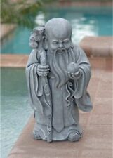 New Toscano Shou Xin Gong Chinese God of Longevity Garden Statue