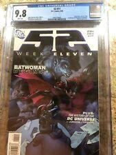 52 Week 11 CGC 9.8 1st app Kate Kane as Batwoman D.C. Comics