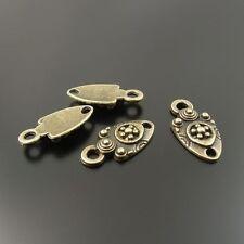 33170 Antique Bronze Tone Small Tiny Pandent Charms drops Bails 12*8*2mm 40pcs