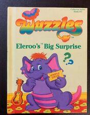 Wuzzles Eleroo's Big Surprise Vintage 1984 Retro Hardcover Book Rare 1980's