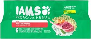 IAMS ProActive Health Pate With Lamb and Brown Rice Canned Dog Food 13 oz, 6 pk