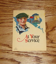 Original 1922 Ford Service Parts Sales Brochure 22