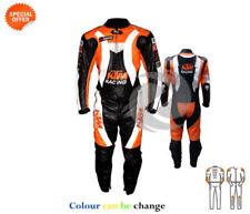 Combinaisons de motocyclette noirs en cuir, taille XL