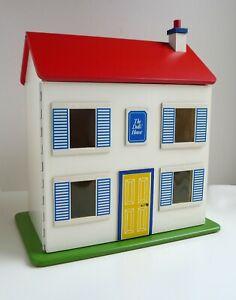 Vintage Retro Wooden DOLLS HOUSE 70s+ BARTON LUNDBY Caroline Home Furniture 1:16
