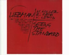 CD DAVE LIEBMAN QUARTET	setting the standard	ITALY 1993 EX (A5144)