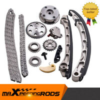 Timing Chain Kit +VVT Acuator Tensioner For Mazda 3 CX-7 L3-VDT 2.3L TURBO 07-13